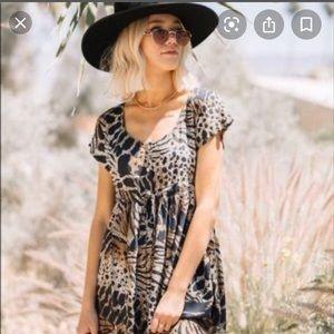 Novella Royale Leopard Dress
